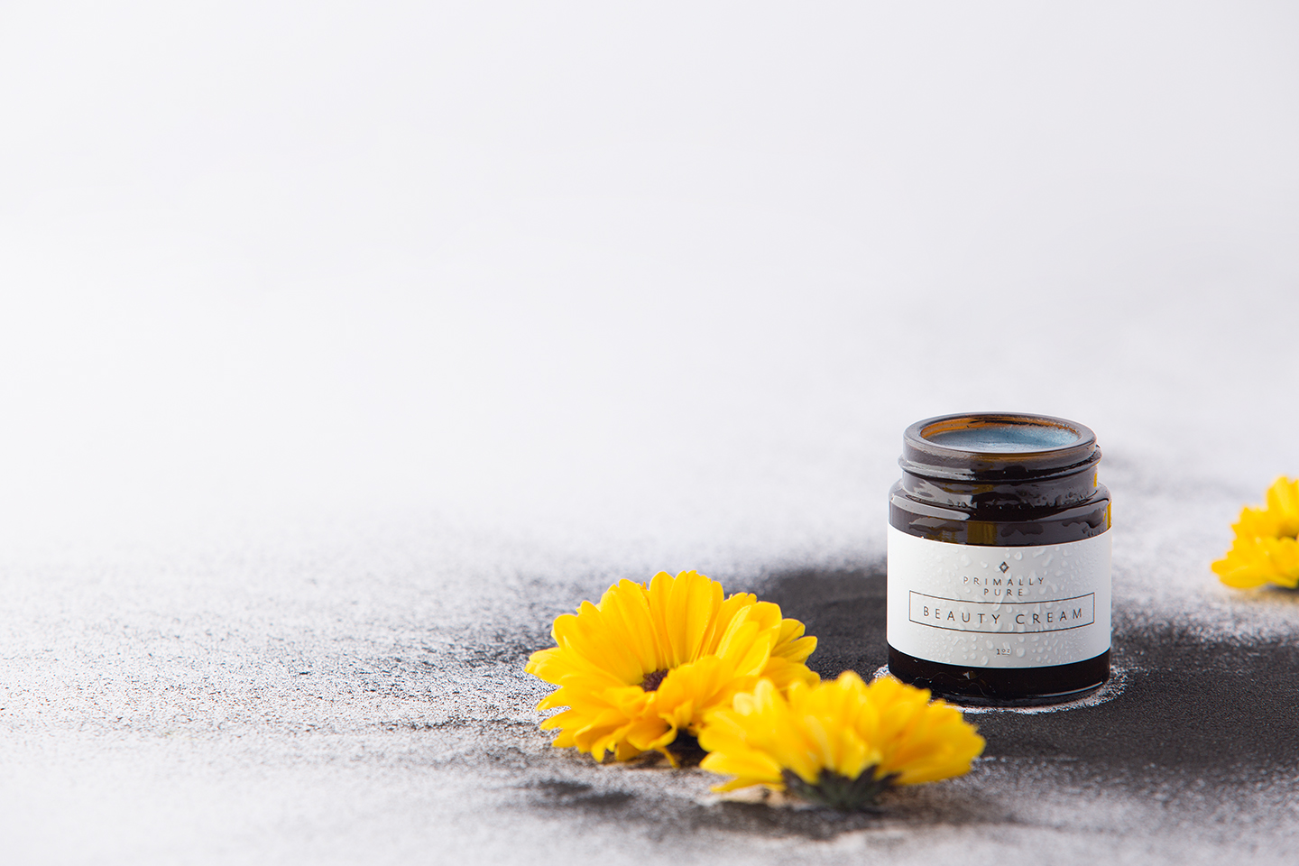 Primally Pure Beauty Cream | Best of Paleo Magazine Product Photography