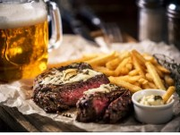 Carpetbagger steak and chips recipe