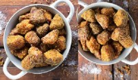 Crumbled Sweet Potato Nuggets Recipe