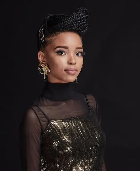 Haibo: Did you know that Rhythm City actress Mapula is a model in real life?