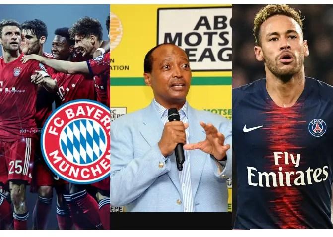 Mamelodi Sundowns to host PSG and German Club Bayern Munich
