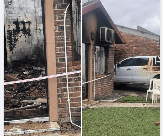 Father torches his house and perishes together with his daughters