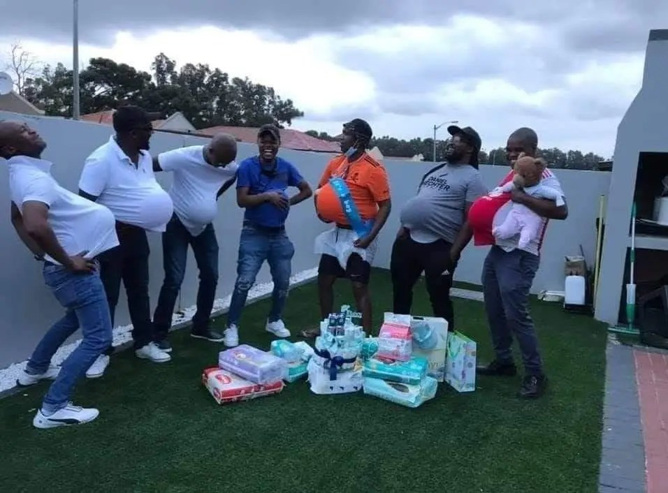In Pics: Men Baby Shower Party Gets South Africa Divided