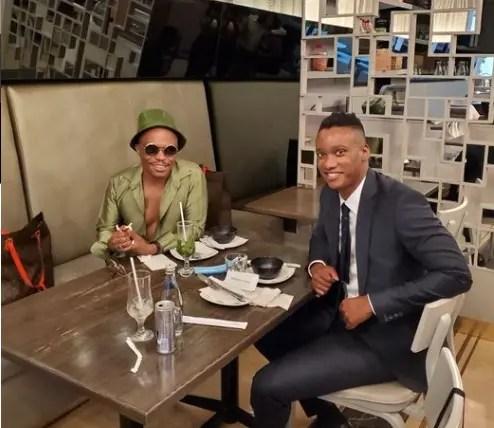 Khanyi Mbau Shares Cosy Picture With Duduzane Zuma