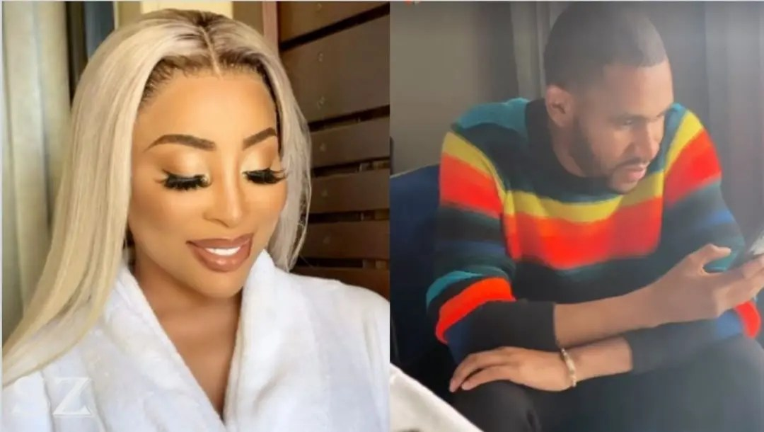 Khanyi Mbau 'all boed up' with a Zimbo scammer