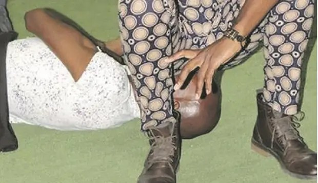 Pictures: Limpopo prophet farts on the congregation to heal them