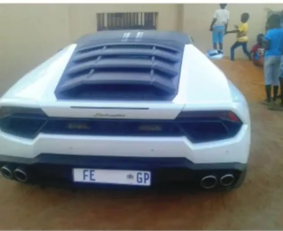 Spaza shop owner buys a Lamborghini worth R3 Million Rands from profits he saved since 2015