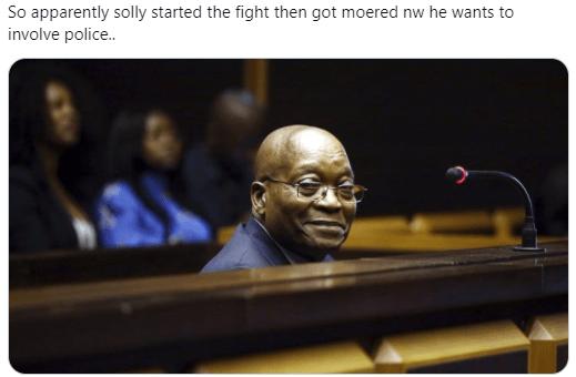 Video Former Mayor of Pretoria Solly Msimanga beaten up