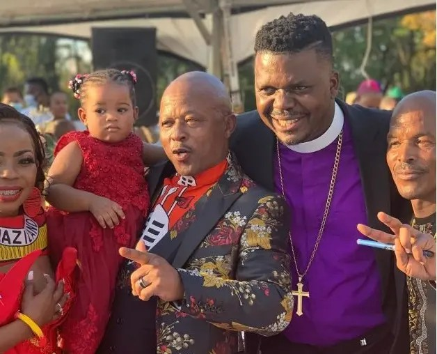 Pictures: Gomora and Uzalo firebrand Ernest Msibi finally ties the knot