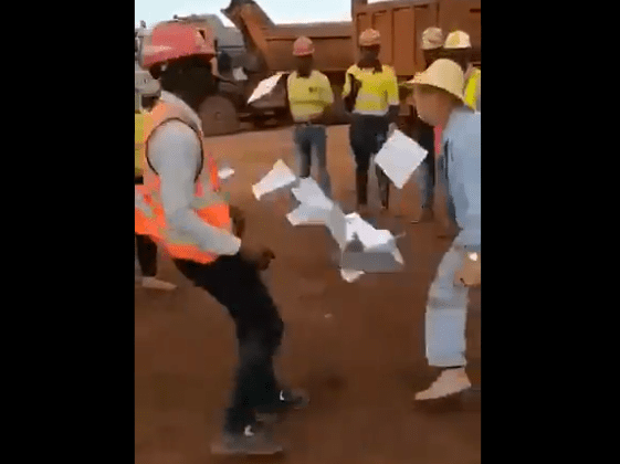 Video: Chinese boss gets a whipping after disrespecting local employee