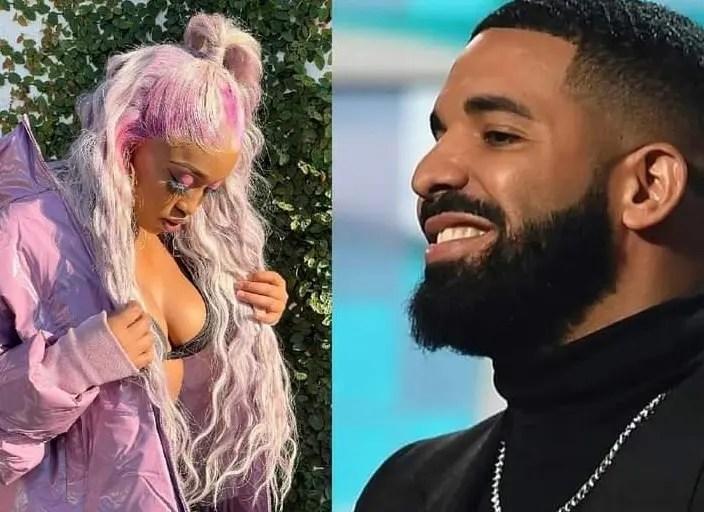 Kamo Mphela dating Drake?