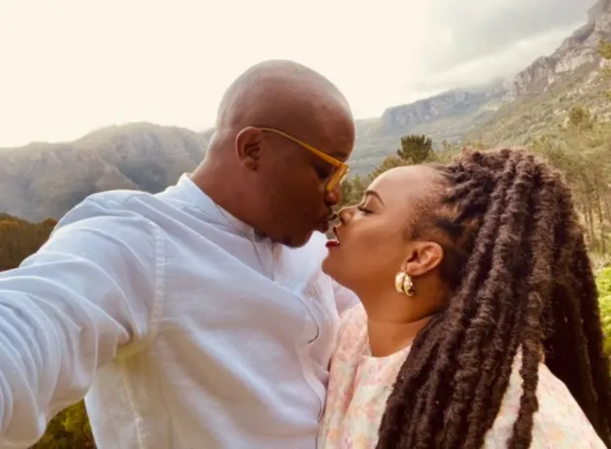New Couple Alert: Scandal actress Wendy Gumede and YouTuber Muchindu dating