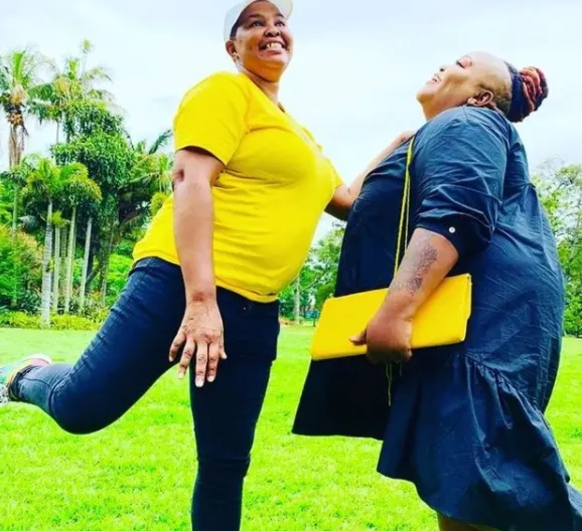 In Pictures: Get to know Mpume Mthombeni's 'Ma Dlamini' from Durban Gen girlfriend in real life