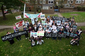 Save Cressingham Gardens Protest March