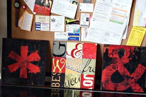 "Target Inspired Grunge Art Printable and DIY Wall Art ""Canvas"" Tutorial"