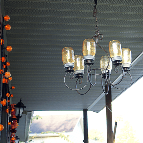 How To Make A Masonjar Chandelier Diy Craft Savedbyloves