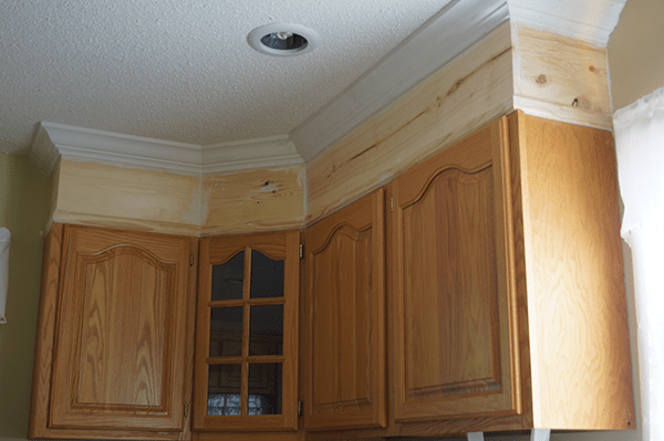 Kitchen Cabinets Crown Molding how to install crown molding on kitchen cabinets with regard to