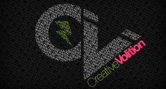 Wallpaper: Creative Violation - Logo Typography Wallpaper