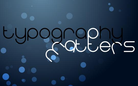 Wallpaper: 42nt1 - Typography Matters v2