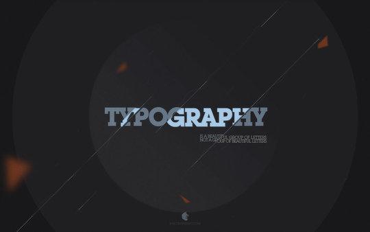Wallpaper: B-82 - Typography