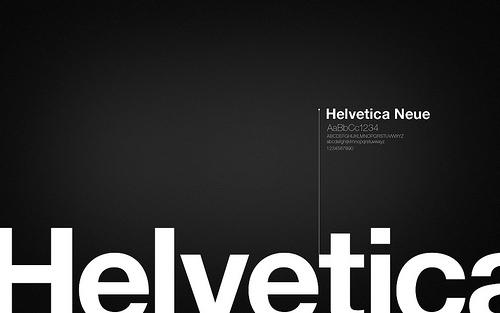 Wallpaper: HawlendRion - Helvetica Wallpaper