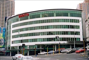 Deloitte office.