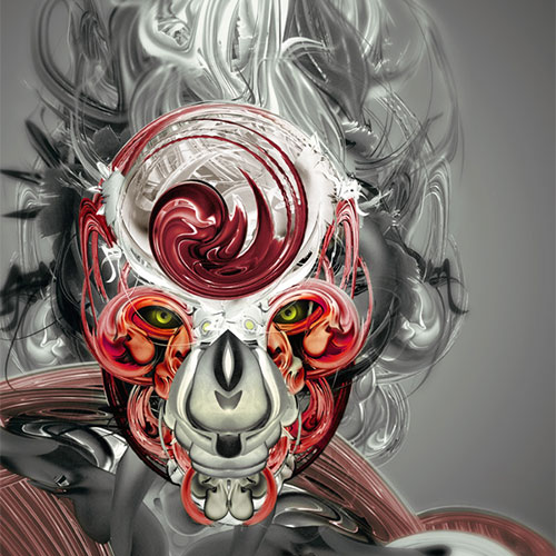 Turn Stock Art Into Awesome Abstract Illustration