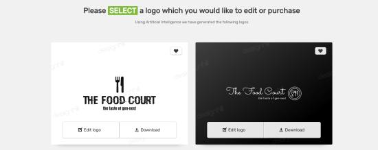 Edit your logo