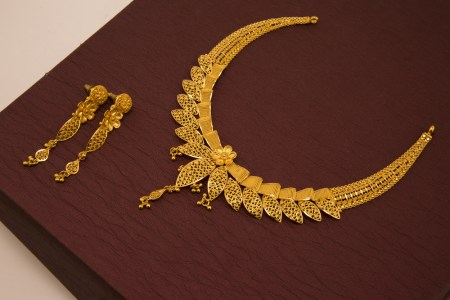 Plain gold Haram