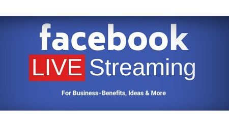 Facebook Live Streaming Option