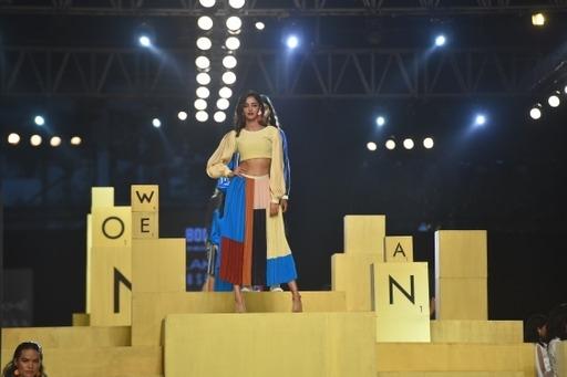 Ananya Panday Family at Lakme Fashion Week Day 3