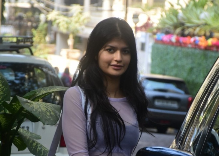 Anjini Dhawan spotted in Bandra