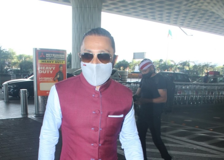 Rahul Bose Spotted at Airport Departure