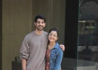 Mandana & Pavail Gulati snapped at Khar