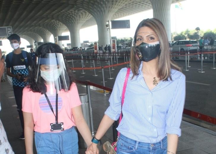 Riddhima Kapoor Sahani, Tulsi Kumar & Zareen Khan Spotted at Airport