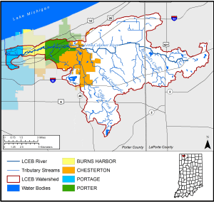 The Little Calumet River East Branch Watershed