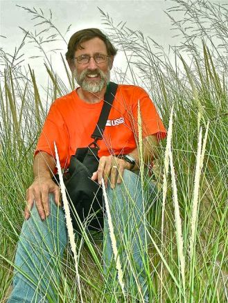 noel pavlovic in marram grass