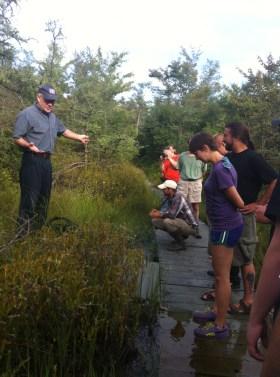 National Park Service staff explain what makes Pinhook Bog such a unique place