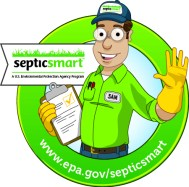 SepticSmart Seal with URL
