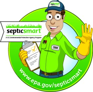 SepticSmart Seal with URL