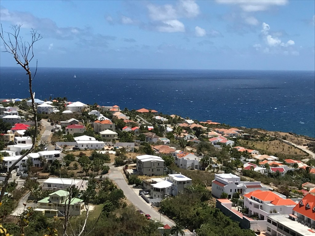 View of St. Martin Island