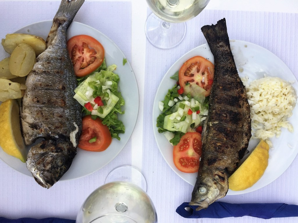 Fresh fish served in many Lagos restaurants
