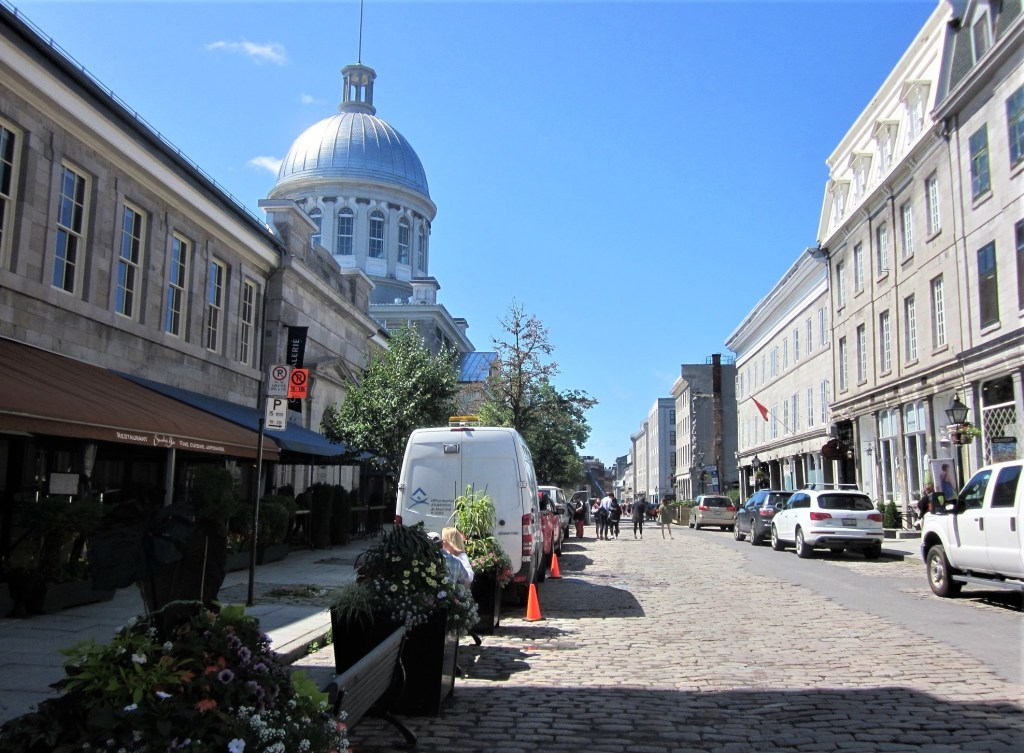 St. Paul Street in Old Montreal, Canada