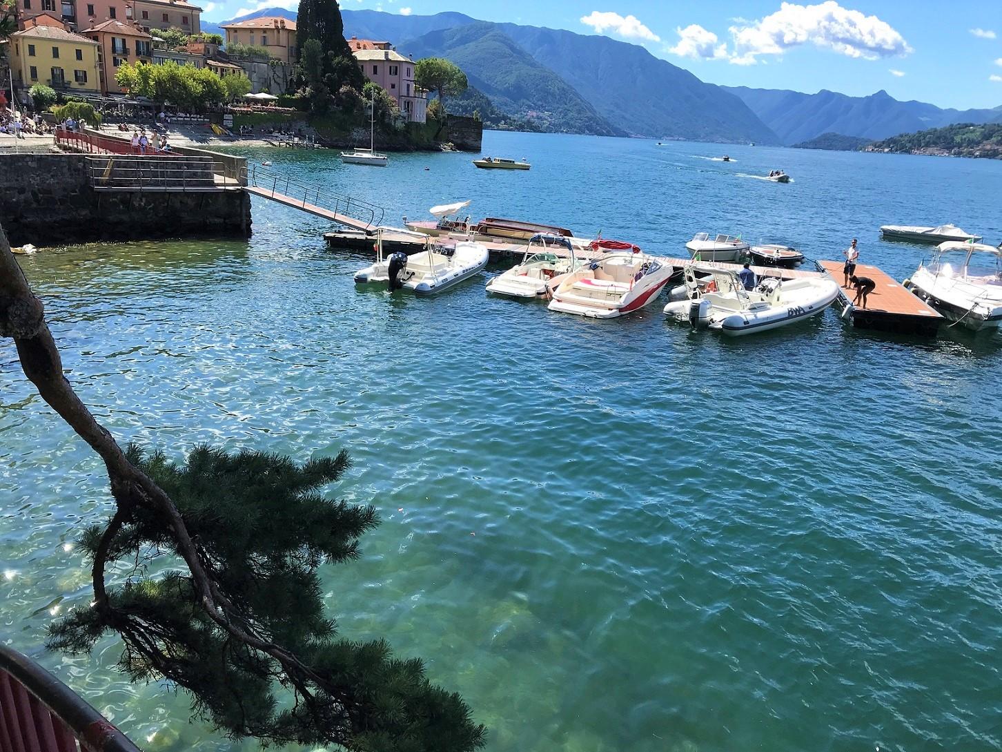 Varenna on Lake Como - harbor - best towns to visit on Lake Como