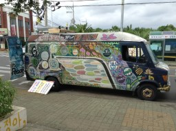 activists' peace van