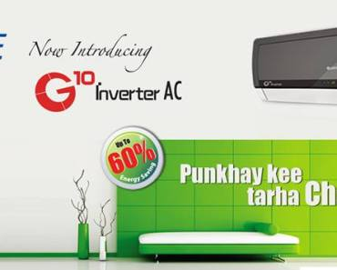 Gree Inverter air conditioner Pakistan advertisement