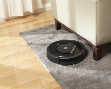 The iRobot Roomba 880 in action.