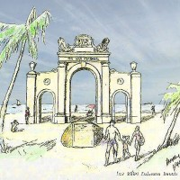 An artist's sketch of what the Memorial could be.