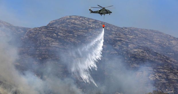 Why did the Killarney National Park fire cause so much damage?