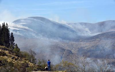 Blame game begins in Kerry over wildfire